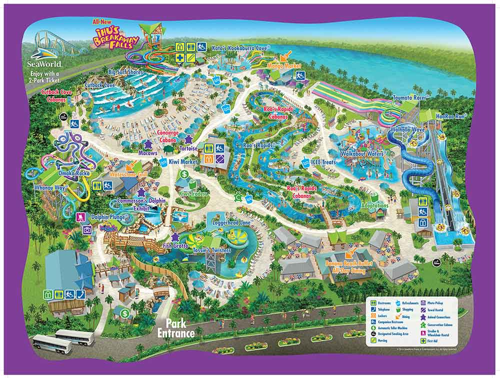 Seaworld Orlando Map 2012 Pdf. Seaworld. Free Download ...