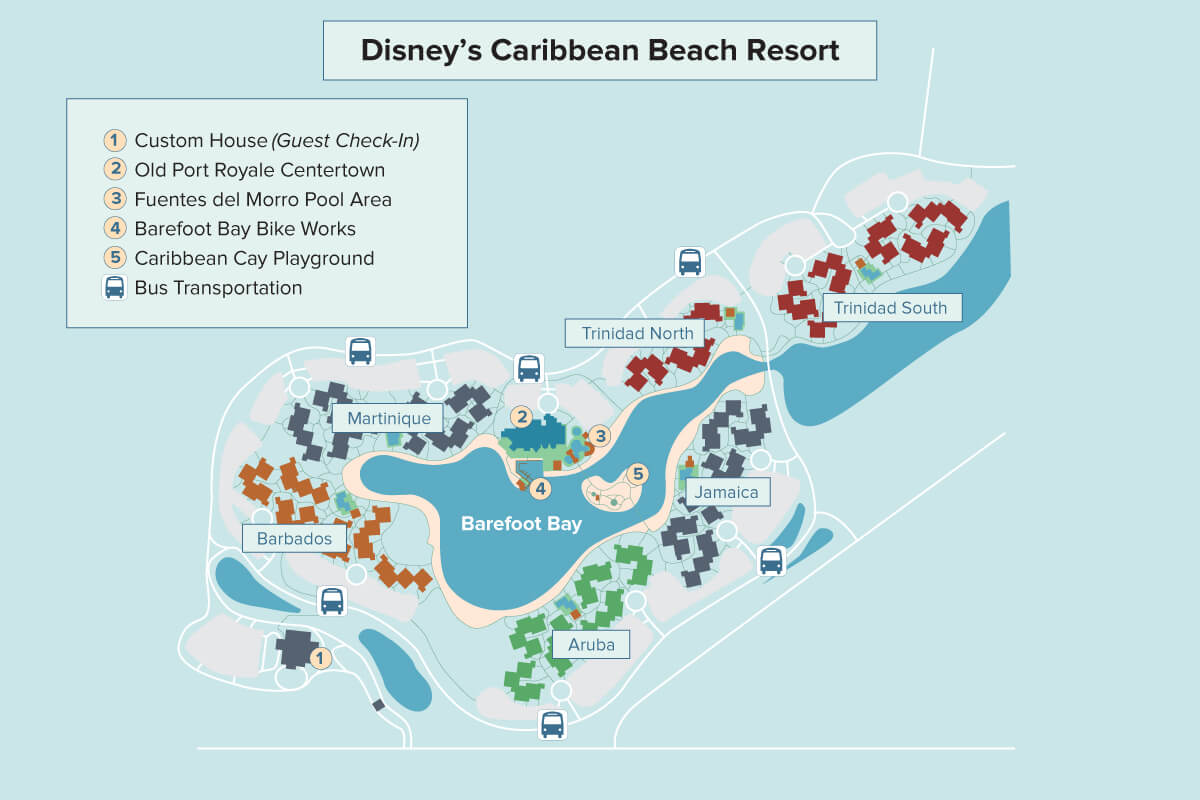 Disney S Caribbean Beach Resort Walt Disney World