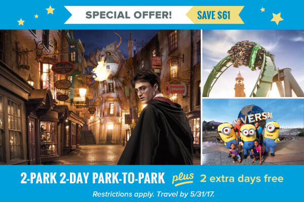 Two Amazing Parks, One Low Price!